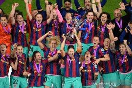 Tundukkan Chelsea 4-0, Barcelona juara Liga Champions Wanita 2020-21