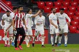 Menang atas Bilbao, Madrid tetap bertarung hingga pekan terakhir