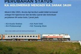 Penumpang KA Stabas mulai 18 Mei wajib sertakan surat bebas COVID-19