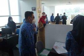Wali Kota Bandarlampung sidak kehadiran ASN usai libur Lebaran
