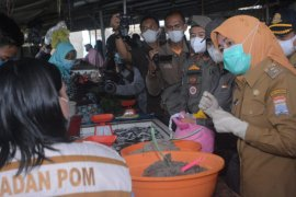 Wakil Wali Kota Palembang temukan makanan  berbahaya di pasar