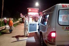 Satu orang penumpang bus asal Padang diduga terpapar COVID-19