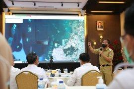 Pemkot Makassar dan PT Pelindo IV bahas proyek jalan Tol MNP