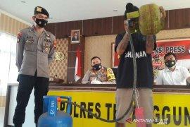 Polres Temanggung ungkap penyalahgunaan elpiji bersubsidi