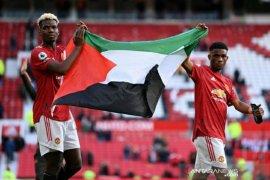 Pogba kibarkan bendera Palestina usai laga Liga Inggris