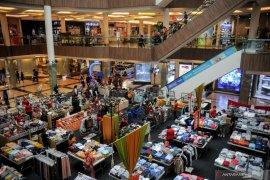 Kunjungan pusat belanja diperkirakan 10 persen  saat PPKM diperketat