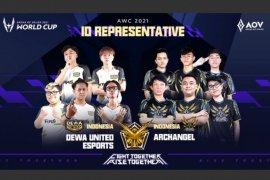 Archangel, Dewa United Esports wakili Indonesia dalam AOV World Cup