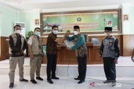 Kantor Pertanahan Inhil serahkan tiga sertifikat tanah wakaf untuk masjid