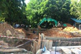 Pembangunan gorong-gorong di Jalan Gajahmada