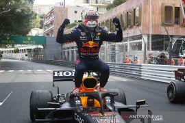 Verstappen dominan juarai GP Monako setelah drama girboks Leclerc