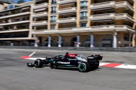 Hamilton kritik Mercedes tampil 'sangat buruk' di Monako