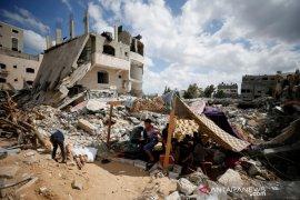 Israel gempur kamp Palestina di Gaza