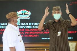 Gubernur Gorontalo belajar pengadaan barang jasa ke Ganjar Pranowo