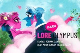 "Webtoon ""Lore Olympus"" hadir di Indonesia"