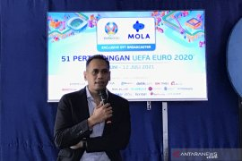 Mola TV siarkan 51 pertandingan Euro 2020