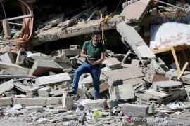 Israel serang dua lokasi militer Palestina di Gaza