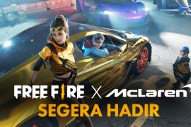 Free Fire kolaborasi dengan McLaren Racing