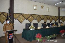 Pertanggungjawaban ini disampaikan Wali Kota Padang ke DPRD setempat