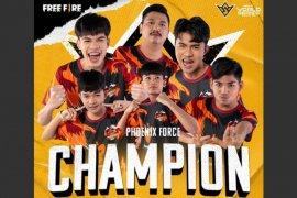 Thailand juarai Free Fire World Series 2021