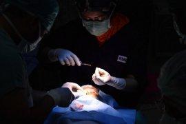 Pusdokkes Polri pecahkan rekor MURI operasi bibir sumbing terbanyak