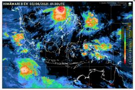 Bandarlampung dan sebagian besar wilayah Indonesia lainnya diprakirakan cerah berawan
