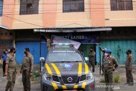 Penututupan Paksa Tempat Usaha Langgar Prokes di Dumai
