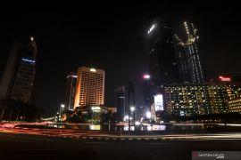 Pemadaman lampu saat Hari Lingkungan kurangi emisi karbon 118,5 ton