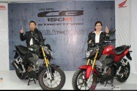 All New Honda CB150R Streetfire mengaspal di Sulteng