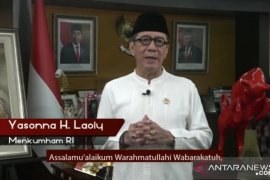 Menkumham Yasonna H.Laoly sebut pasal penghinaan terhadap presiden jadi delik aduan