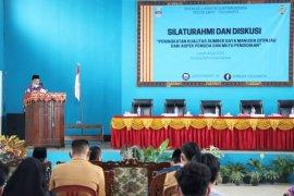 Wabup Pesibar buka diskusi dan silaturahim IKAM Pesisir Barat-Yogyakarta