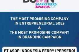 ASDP raih dua penghargaan dalam ajang BUMN Marketeers Award 2021
