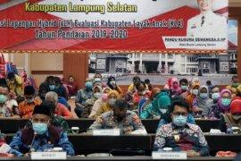 Bupati Lampung Selatan hadiri verifikasi lapangan hybrid KLA