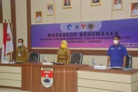 Staf Ahli Menkominfo berikan materi workshop kehumasan perangkat daerah Pemkab Mesuji