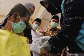 411.725 orang telah divaksin lengkap di Sulawesi Selatan