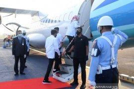 Presiden Joko Widodo ke Jateng tinjau infrastruktur dan vaksinasi massal
