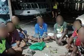 Patroli Polair Polda Papua tangkap tujuh WN PNG di perairan Jayapura