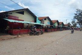 Aktivitas Pasar Jibama masih sepi usai penembakan warga sipil