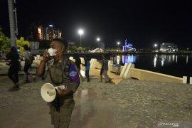 Antisipasi penyebaran COVID-19, pembatasan jam malam kembali berlaku di Makassar