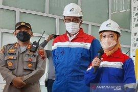 Dirut Pertamina pastikan operasional kilang Cilacap tidak terganggu kebakaran