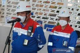 Pertamina masih berupaya padamkan satu titik api di Kilang minyak Cilacap