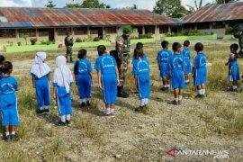 Satgas TNI tingkatkan disiplin pendidikan anak di perbatasan RI-PNG