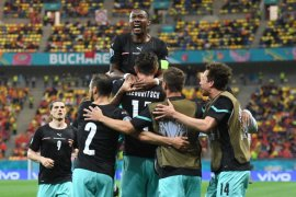 Euro 2020 - David Alaba jadi pemain terbaik laga Austria vs Makedonia Utara
