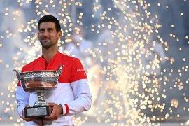 Djokovic sabet gelar French Open keduanya, berikut kisahnya