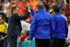 Kunci kemenangan Belanda atas Ukraina 3-2 menurut Frank de Boer