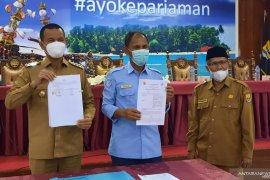 """Untuk \""""Saga Saja\"""", Pemkot Pariaman jalin kerjasama dengan delapan PT di Indonesia"""