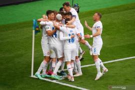 Euro 2020: Timnas Ceko latihan menembak jelang laga 16 besar