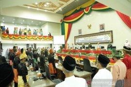 Dengan keterbatasan dana, DPRD Inhil gelar rapat paripurna istimewa Milad Kabupaten Inhil