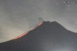 Gunung Merapi luncurkan awan panas guguran sejauh 1,6 km