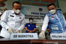 BNN Sulawesi Tenggara ungkap tiga pengedar sabu-sabu