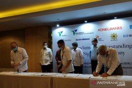 PT Pelindo IV gandeng perusahaan Finlandia bangun crane di Indonesia